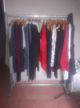 Clothing rails