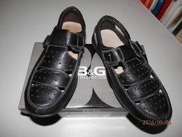 продам кожанные туфли B&G для школы 31разм.