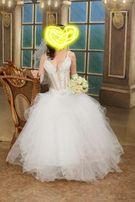 Свадебное платье. Очень красивое, шикарное. Состояние нового.