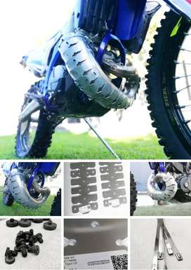 2-T Bike Armadillo Exhaust Header Pipe Protection