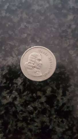 5 cent coin 1965 ( value = R2000)