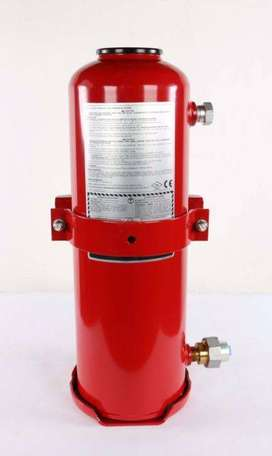 ANSUL A-101 Vehicle Fire Suppression System And Fire Extinguishers