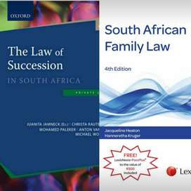 Unisa Law Textbooks for Sale