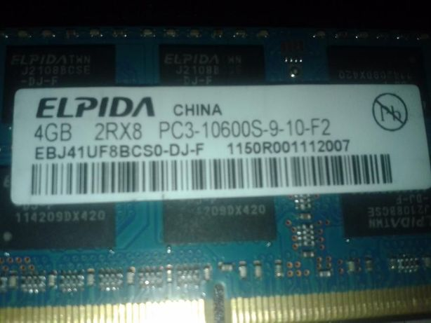 DDR3 4GB Hynix, Kingston, Samsung SO-DIMM 1600;1333;1066 MHz Intel/A Каменец-Подольский - изображение 6