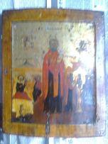 Икона на дереве Святой Николай