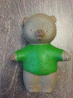 Старинный раритетный резиновый мишка медведь СССР 60-70 гг игрушка