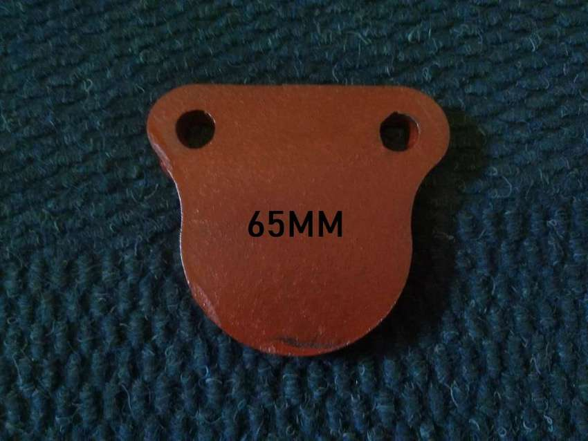 65MM Round Gong / Ghong Target NM500 10MM THICK 0