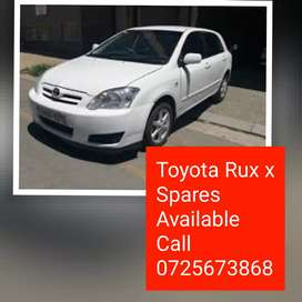 Toyota Run x stripping 4 parts give us a call