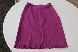 nowa fioletowa elastyczna spódnica rozm 40