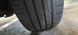 4 x Continental eco contact 5 tyres 195x55x16