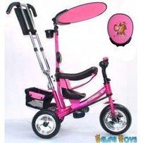 SUPER TRIKE Детский трёхколёсный велосипед VT1428, МАША И МЕДВЕДЬ