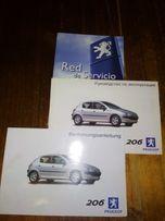 Книга по експлуатации Пежо 206 (Peugeot 206)