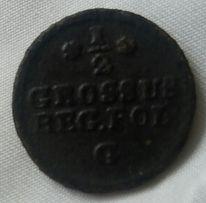 starywzór2019 stara moneta - 1/2 grosz SAP St August Poniatowski 1767
