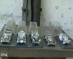 модельки старинных машинок из ссср пластик 5 штук