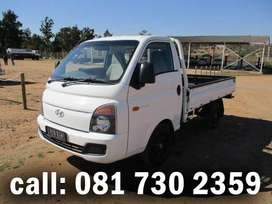 Large bakkie for hire with workforce