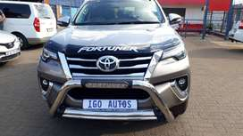 2018 Toyota Fortuner 2.8GD 6 auto 26000km R383500