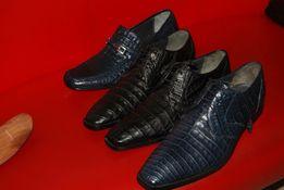 Туфли из кожи нат. Крокодила.