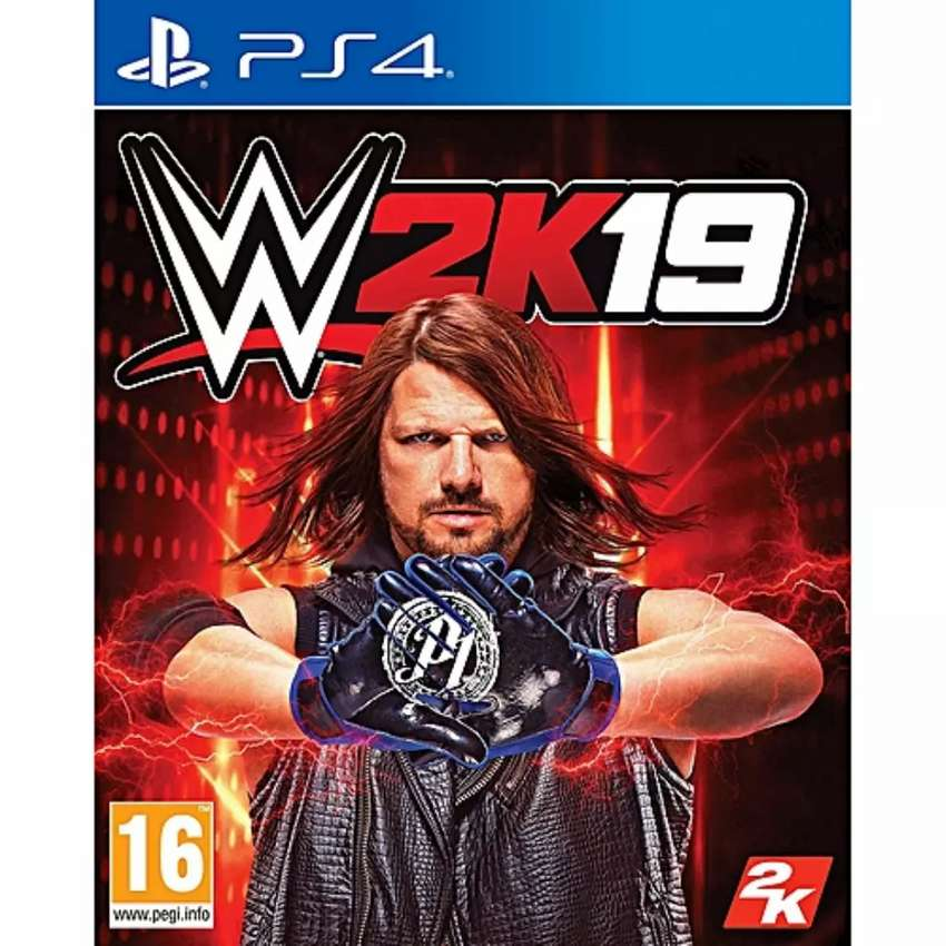 GAME WWE 2K19 PS4 0