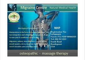 Massage Therapy incl Remedial / Sports