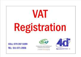 VAT / PAYE/ UIF  REGISTRATIONS - SAME DAY