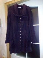 Платье сукня женское черное Perla Nero 10 р, S, хлопок