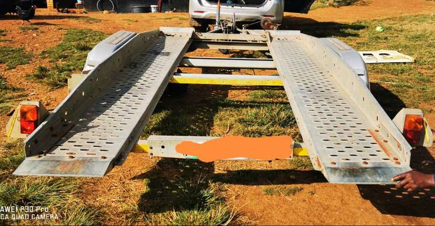 double axle car trailer for hire