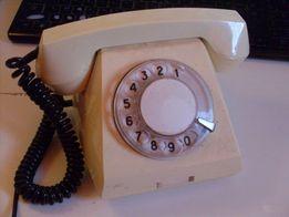Телефон дисковый VEF-68 (цвет-серый) СССР-1982 г.в. механический звоно