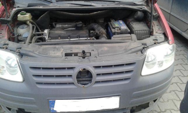 VW CADDY Przód Maska Lampy Zderzak Błotniki Pas Chłodnica Wzmocnienie Skawina - image 1