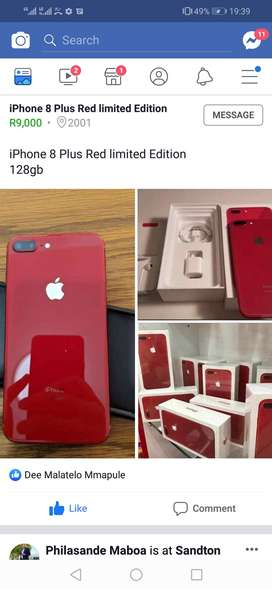I need an iphone 7plus or 8plus