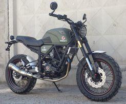 Мотоцикл GEON SCRAMBLER 250 Масло и Доставка в Подарок. Жми!