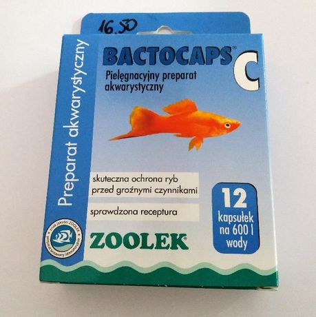 ZOOLEK Bactocaps C - ochrona przed bakteriami 12 kaps. Adamiak-ZOO Radomsko - image 1