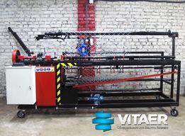 Станок с чпу автомат для производства сетки рабицы СА-2 от 220 В