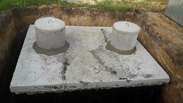 Szamba z najazdem 2m3 zbionik betonowy