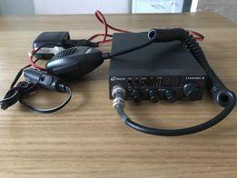 CB M-Tech LEGEND II+antena SIRIO OMEGA 27 Black MAG 90cm-stan idealny