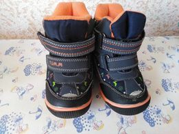 Зимние ботиночки-дути фирм Tom m 23 размер