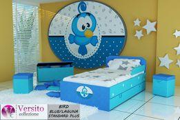 Łóżko dla dziecka,dziecięce z szufladą i materacem, dostawa,