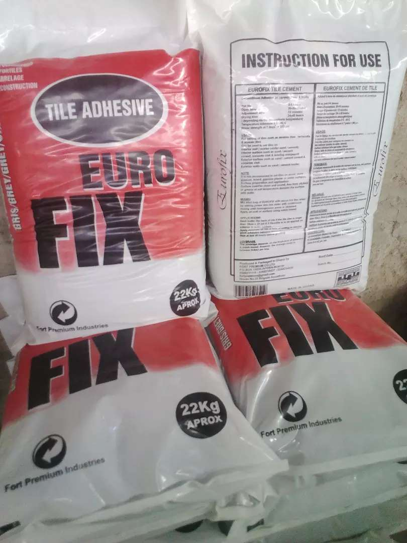 Euro fix  tile adhesive 0