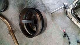 jeep v8 pulley