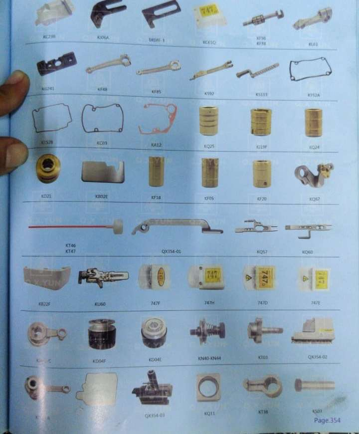 all parts for sewing machine 0
