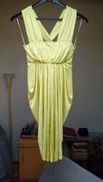 sukienka River Island psitacjowa lejący materiał