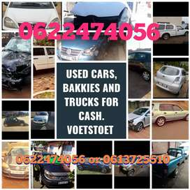 150 cars bakkies and trucks with papers wanted