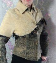 дублёнка курточка натуральная женская