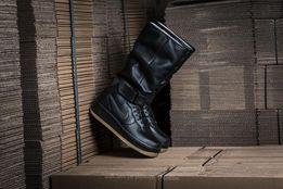 US 8,8,5 ОРИГИНАЛ! Сапоги Nike ботинки Air Force 1 Upstep. Кожа
