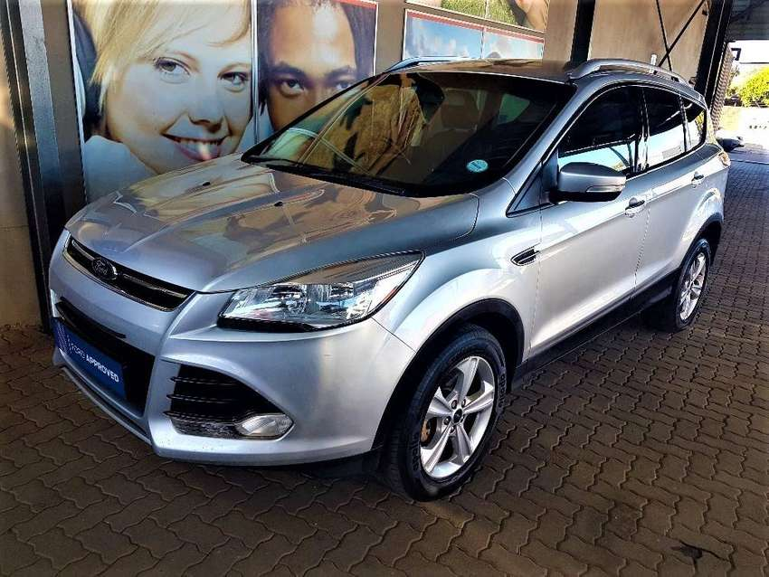 2013 Ford Kuga 1.6 Ecoboost Trend, 154224km, Silver, R149,900 0