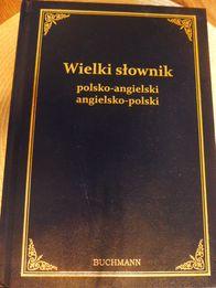 Wielki Słownik polsko - angielski ,angielsko - polski ,Buchmann