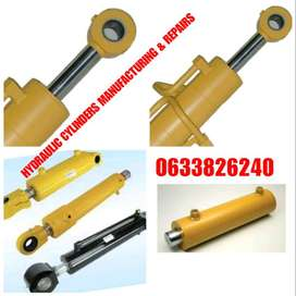Hydraulic cylinders repair and manifacturing