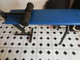 Excersise bench