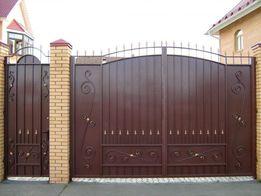Ворота, ворота откатные, ворота филенка, автоматика для ворот.