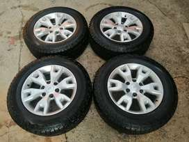 Ford ranger 18inch rims and tyres