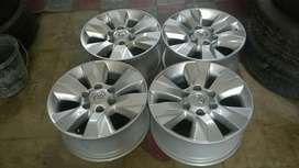 "17"" Toyota mags and tyres"